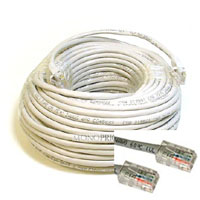 Network Extension Cable, 50 FT Grey